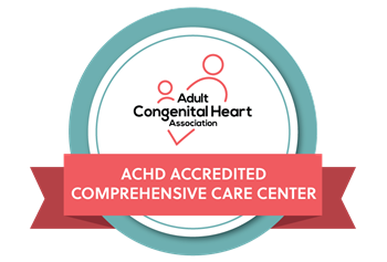 Adult Congenital Heart Disease Association Comprehensive Center logo