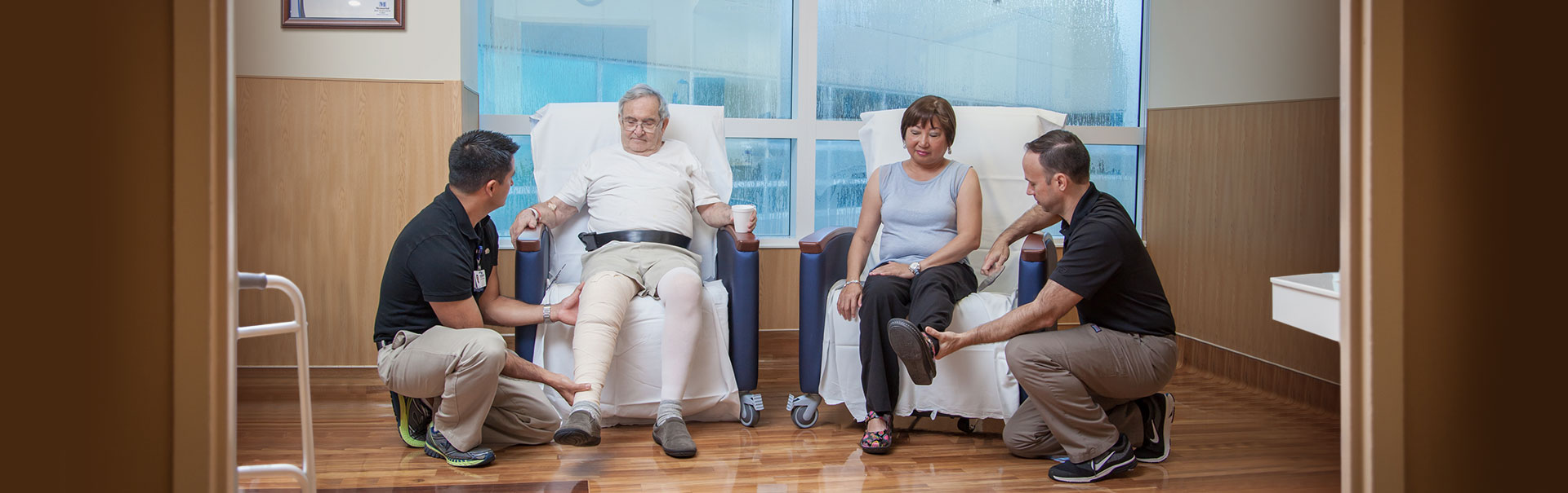 Patients in Joint Replacement Center