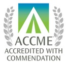 ACCME with Commendation