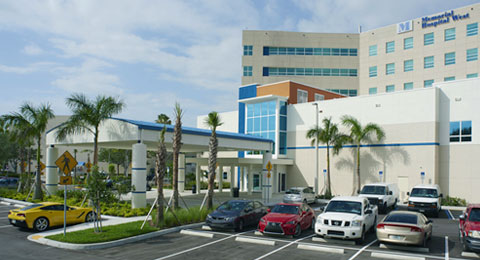 Rendering of academic medical center