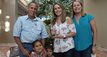 Amanda Taylor Earns Commissioners Excellence in Core Values Award