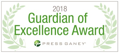 2018 Press Ganey Guardian of Excellence Award