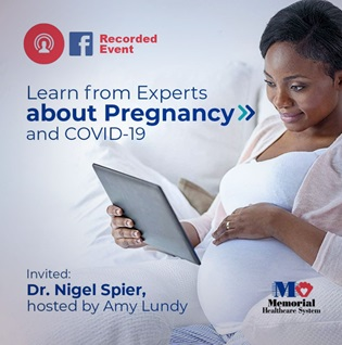 Facebook interview with Doctor Nigel on Pregancy and Covid-19