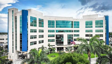 memorial hospital west exterior